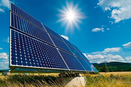 Alto indice de insolação viabilizando a instalação de energia solar